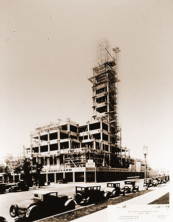 Bullocks Wilshire - Under Construction
