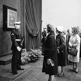 Mona Lisa Exhibition 1963, Leonardo da Vinci - Margaret Leslie Davis