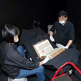 Gutenberg Bible Restoration at Keio University - Margaret Leslie Davis