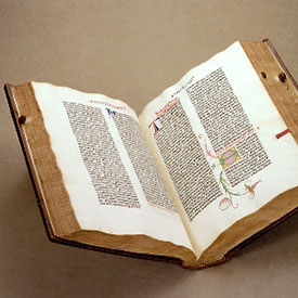 Gutenberg Bible - The Lost Gutenberg by Margaret Leslie Davis