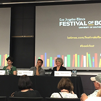 Margaret Leslie Davis at the LA Times Festival of Books 2019