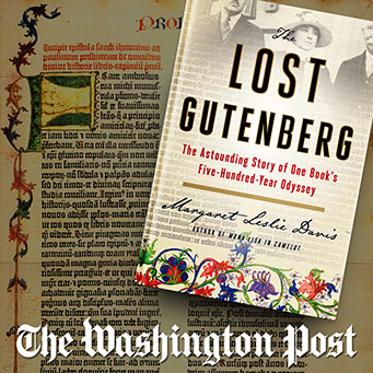 The Washington Post - The Lost Gutenberg Book Review