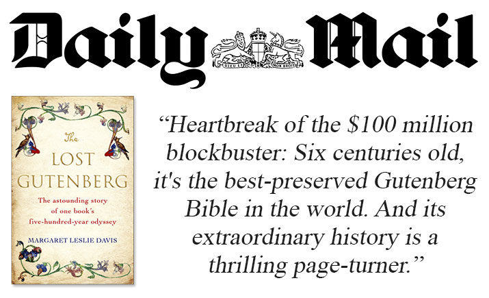Daily Mail - The Lost Gutenberg Book Review