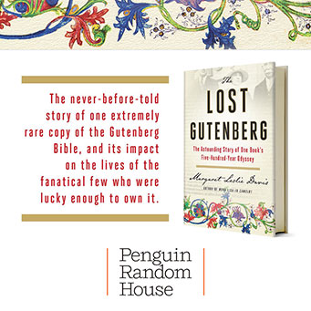 The Lost Gutenberg by Margaret Leslie Davis, Penguin Random House