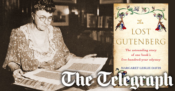 The Telegraph - The Lost Gutenberg Book Review