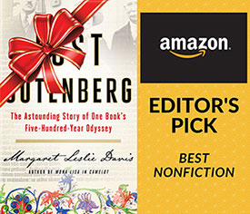 The Lost Gutenberg by Margaret Leslie Davis, Amazon Editor's Best Pick, Nonfiction